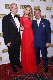 Olivia Jordan - USO New York 75th Anniversary Gala in Marriott Marquis Hotel 12/13/ 2016