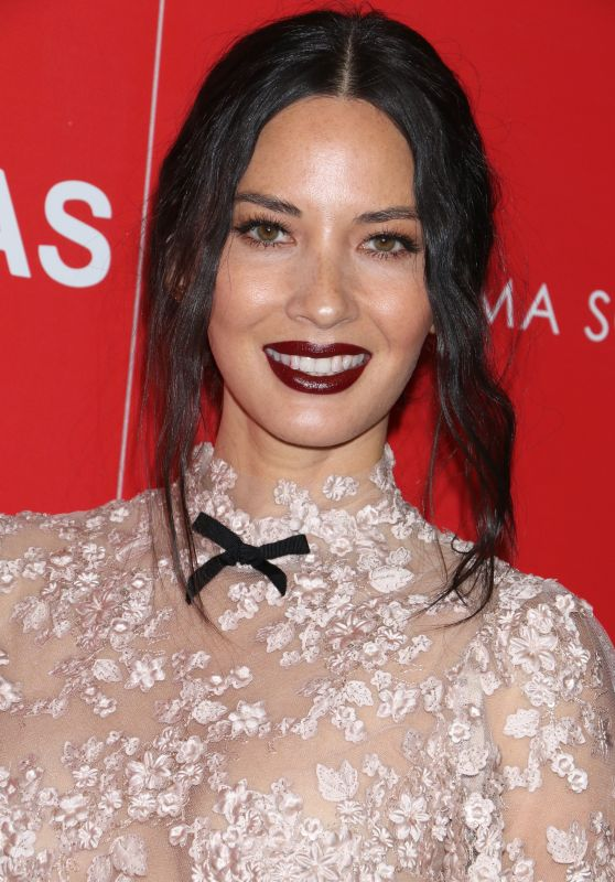 Olivia Munn - 'Office Christmas Party' Screening in NYC