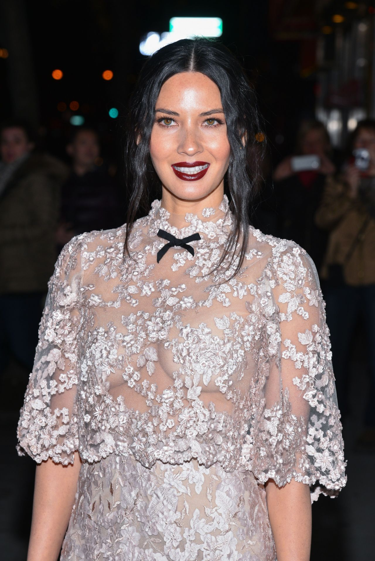 Olivia Munn - \'Office Christmas Party\' Screening in NYC