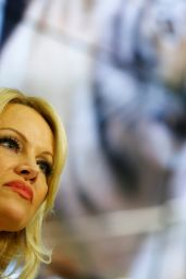 Pamela Anderson - IFAW Press Conference in Moscow 12/16/ 2016