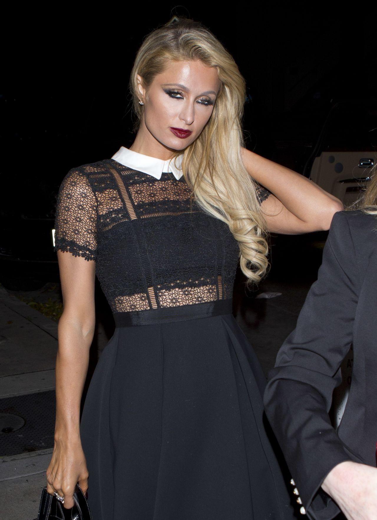 Paris Hilton - Out for Dinner in West Hollywood 12/22/ 2016 Paris Hilton