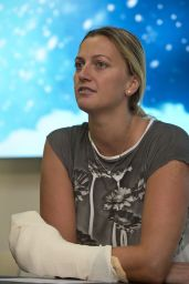 Petra Kvitova Press Conference in Prague, Czech Republic 12/23/ 2016