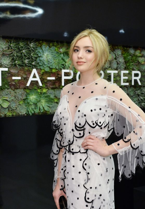 Peyton List - NET-A-PORTER New Designers Cocktail in Los Angeles, December 2016