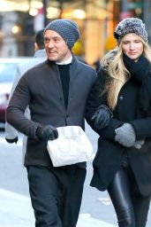 Phillipa Coan - Strolling in New York 12/20/ 2016