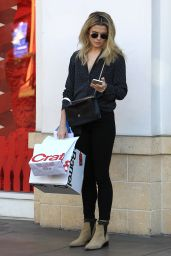 Rachael Taylor Looking Chic - Holiday Shopping Trip to The Grove in Hollywood 12/20/ 2016