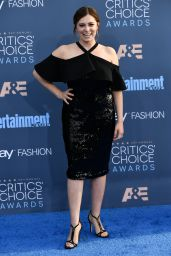 Rachel Bloom – 2016 Critics' Choice Awards in Santa Monica 12/11/ 2016