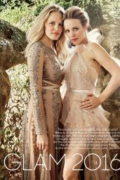 Rachel McAdams and Kayleen McAdams - The Hollywood Reporter December 2016
