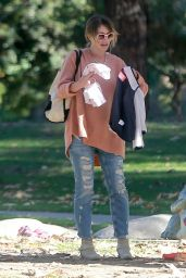 Rebecca Gayheart at Coldwater Canyon Park in Beverly Hills 12/20/ 2016