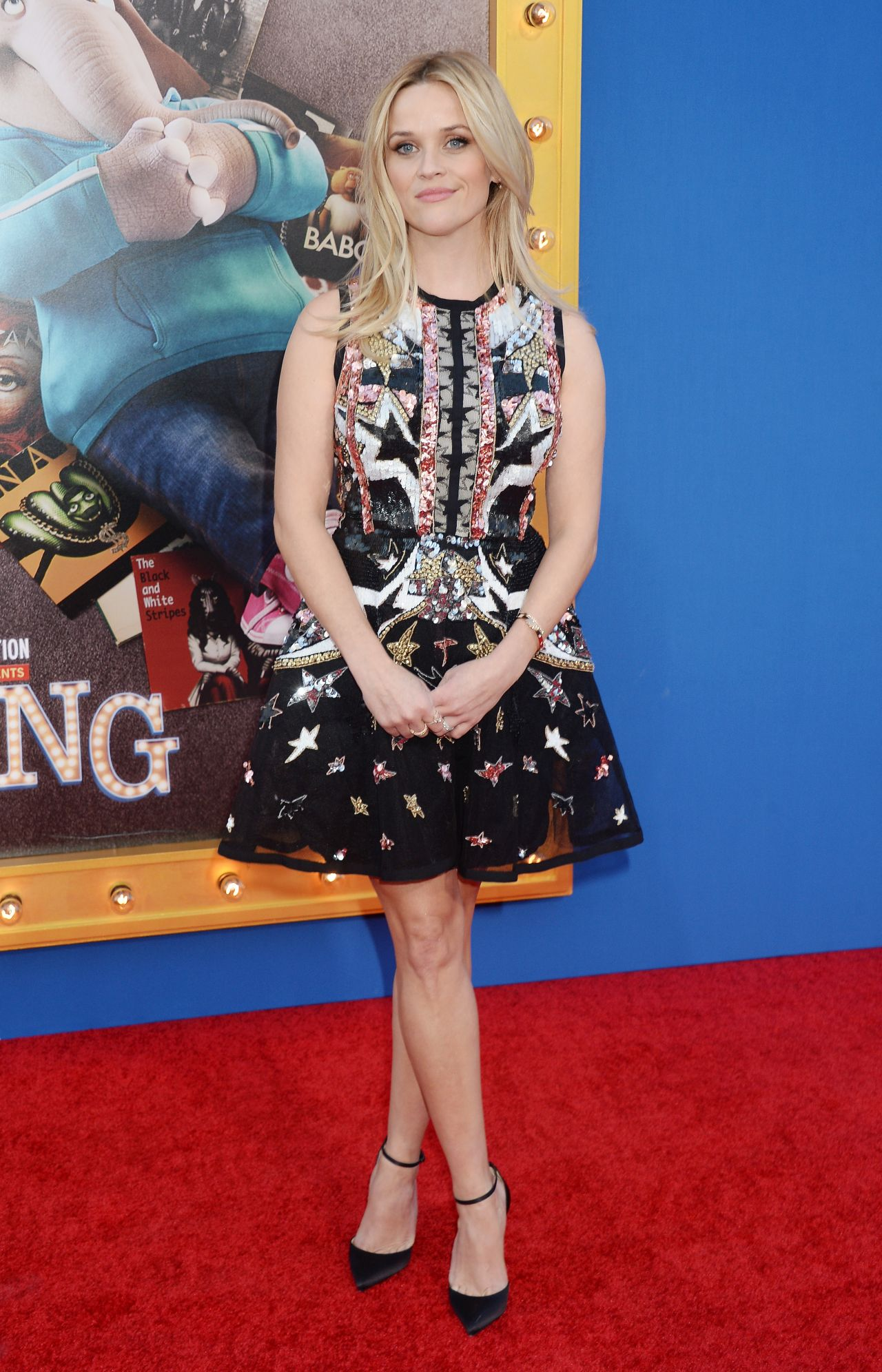 Reese Witherspoon Sing Movie Premiere In Los Angeles