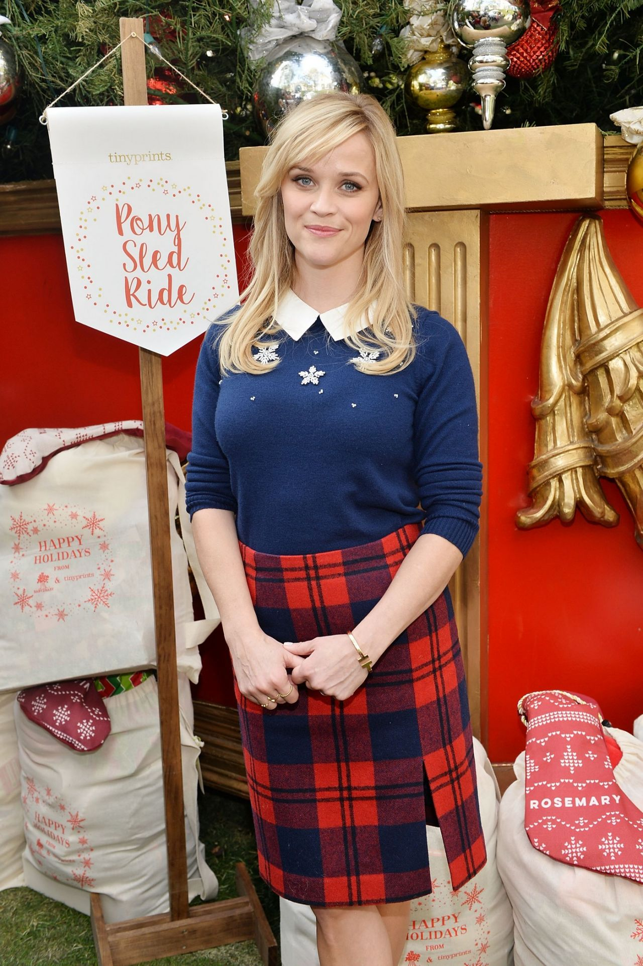 Reese Witherspoon - Tiny Prints Presents The Baby2Baby Snow Day at on the grove madewell, the grove mall, the grove santa, the grove in la, the grove of anaheim,