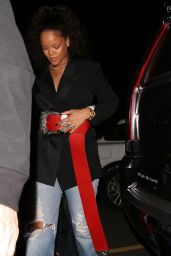 Rihanna - Arrives at Giorgio Baldi in LA 12/20/ 2016