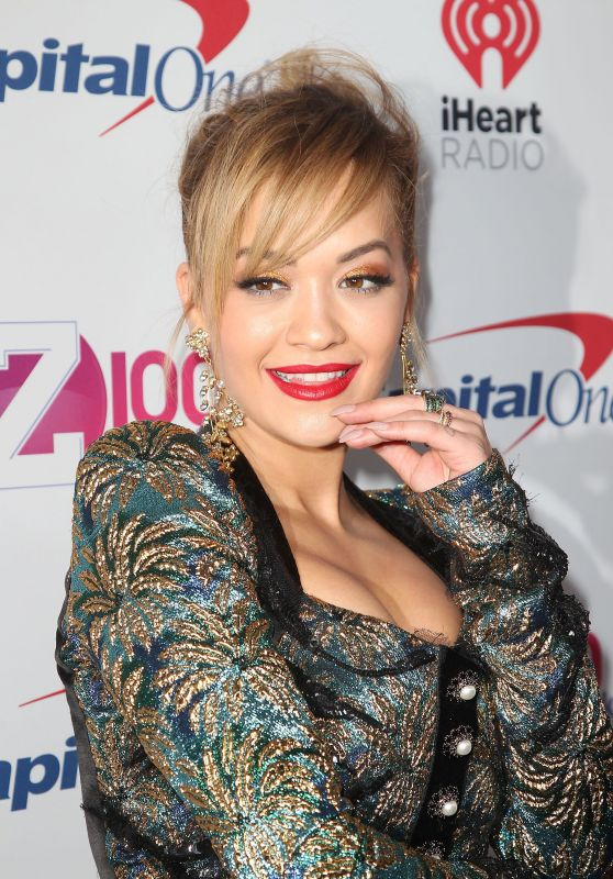 Rita Ora – Z100's iHeartRadio Jingle Ball in New York 12/9/ 2016