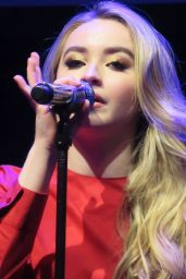 Sabrina Carpenter Performs at Z100 CocaCola All Access Lounge in NYC 12/9/ 2016