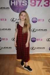Sabrina Carpenter - Portrait Session at 97.3 Radio Station in Fort Lauderdale 12/19/ 2016