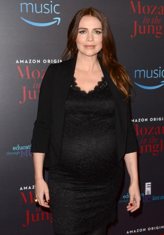 Saffron Burrows – Amazon's 'Mozart In The Jungle' Screening in Los Angeles