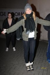 Sarah Harding and the Touring Production of