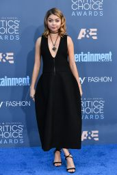 Sarah Hyland – 2016 Critics' Choice Awards in Santa Monica 12/11/ 2016