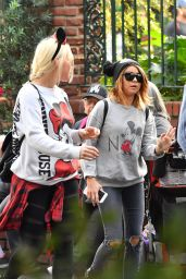 Sarah Hyland at the Happiest Place on Earth, Disneyland in Los Angeles 12/27/ 2016