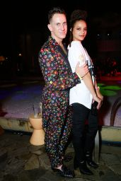 Sasha Lane – Moschino and SBE Event – Art Basel, Miami Beach 12/1/ 2016