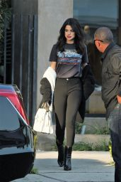Selena Gomez - Leaving Nine Zero One Salon in West Hollywood 12/5/ 2016