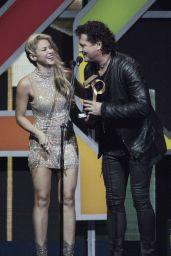 Shakira - Los 40 Music Awards in Barcelona, Spain 12/1/ 2016