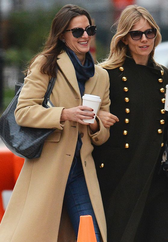 Sienna Miller - Out in New York City, December 2016