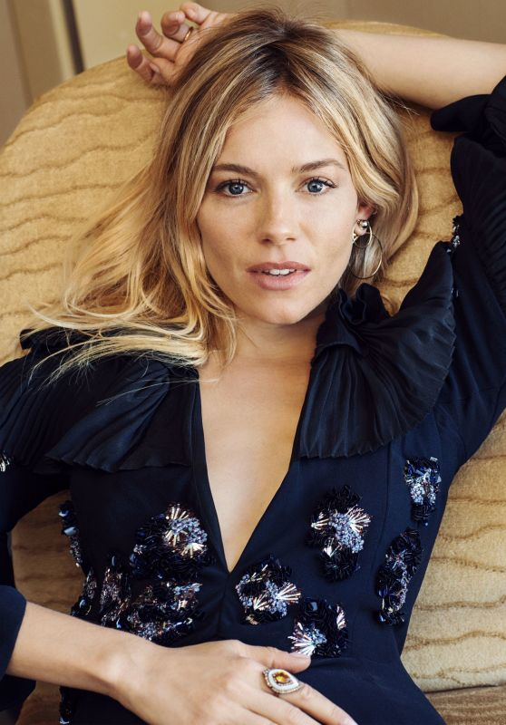 Sienna Miller - Photoshoot for Telegraph - December 2016