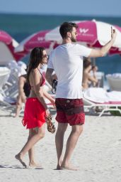 Sila Sahin in Bikini at Miami Beach 12/27/ 2016