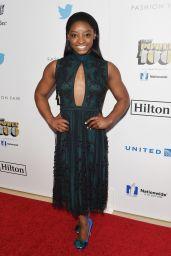 Simone Biles – Ebony Power 100 Gala in Beverly Hills 12/01/ 2016