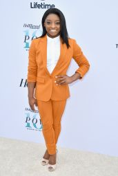 Simone Biles – The Hollywood Reporter's Annual Women in Entertainment Breakfast in LA 12/7/ 2016