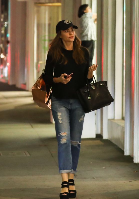 Sofia Vergara - Goes Christmas Shopping in Beverly Hills 12/13/ 2016
