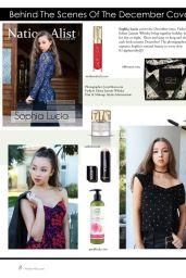 Sophia Lucia - Nation-Alist Magazine December 2016 Issue