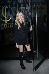 Stephanie Pratt Enjoys a Night Out at Catch in Los Angeles 12/17/ 2016