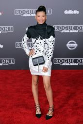Storm Reid – 'Rogue One: A Star Wars Story' Premiere in Hollywood 12/10/ 2016
