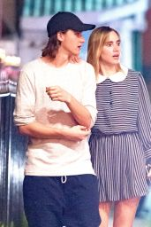Suki Waterhouse and Her Brother Charlie - Holetown Barbados 12/28/ 2016