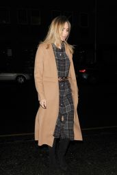 Suki Waterhouse - Attends a Carol Service with Her Brother Charlie in London 12/12/ 2016