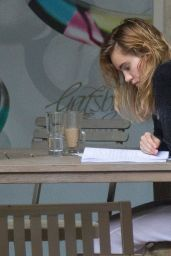 Suki Waterhouse - Keeps Herself Busy on Vacation in Barbados 12/22/ 2016