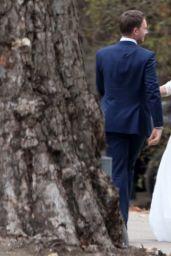 Troian Bellisario - Her Wedding in Santa Barbara, CA 12/10/ 2016