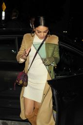 Vanessa Hudgens - Out For a Dinner Date Night at Catch LA in West Hollywood 12/27/ 2016