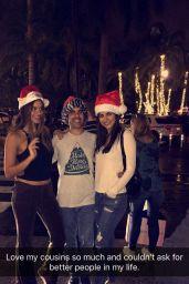 Victoria Justice Social Media Pics, December 2016