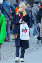 Victoria Monfort - Out and About in Gstaad, Switzerland 12/28/ 2016