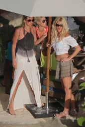 Victoria Silvstedt - Christmas at St Barth 12/25/ 2016
