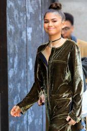 Zendaya Coleman Chic Style - New York 12/20/ 2016