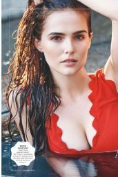 Zoey Deutch - GQ Magazine UK - January 2017 Issue