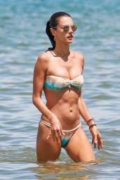 Alessandra Ambrosio Hot in Bikini - Florianópolis, Brazil 1/13/ 2017