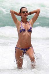 Alessandra Ambrosio in Bikini - Florianopolis Beach, Brazil 1/12/ 2017