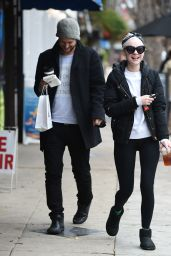 Alessandra Torresani - Lunch With a Friend on New Years Eve in Los Angeles 12/31/ 2016