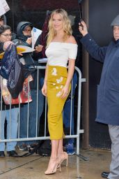 Ali Larter - Greeting The Fans as She Leaves The Good Morning America Show in NYC 1/25/ 2017