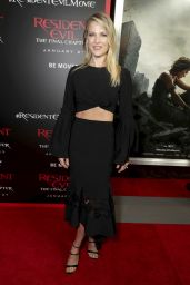 Ali Larter - Resident Evil: The Final Chapter Premiere in Los Angeles 1/23/ 2017