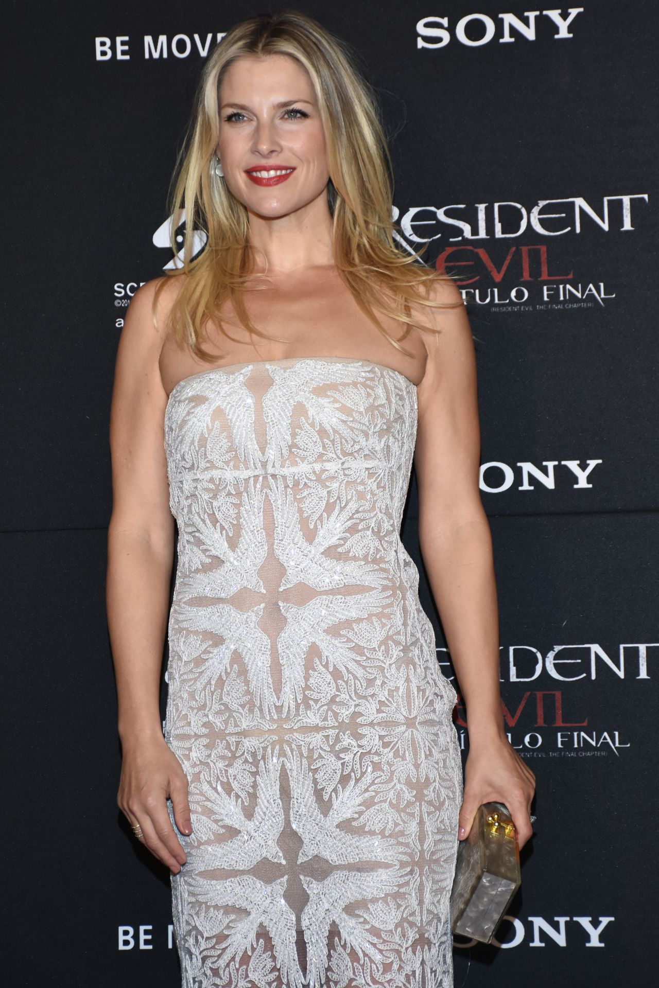 Ali Larter - Resident Evil: The Final Chapter Premiere in ...